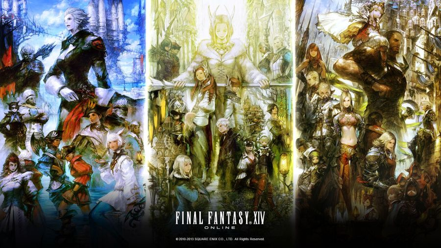 Final Fantasy 14 A Realm Reborn Wallpapers Group  71   FINAL FANTASY XIV  A Realm Reborn Fan Kit  4   Day 4 Released