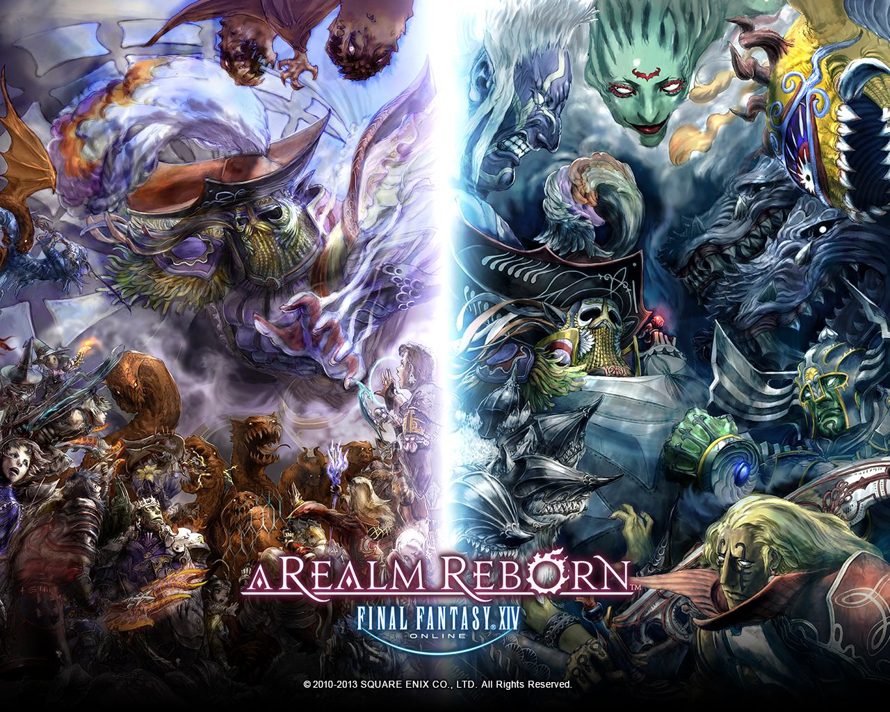 Final Fantasy 14 A Realm Reborn Wallpapers Group  71   Final Fantasy XIV  A Realm Reborn Store     Fan Gear  Guides  Gift