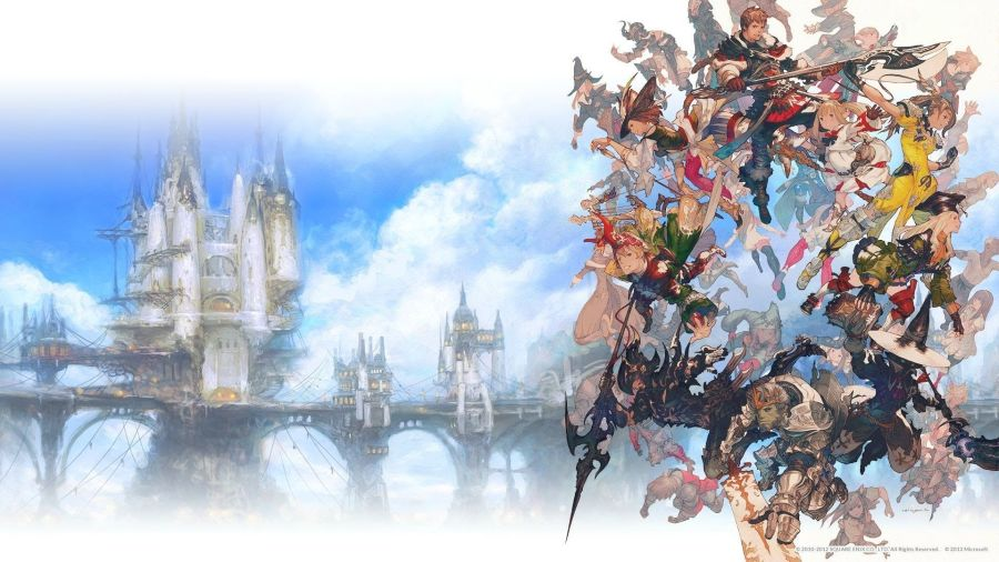 Final Fantasy 14 A Realm Reborn Wallpapers Group  71   Final Fantasy XIV      A Realm Reborn  Collector s Edition