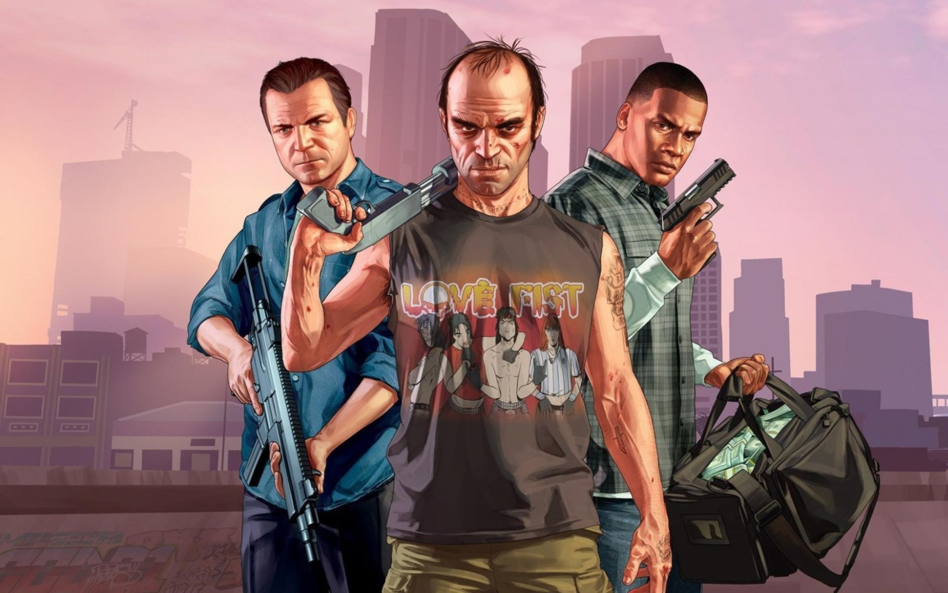Grand theft auto 5 hd wallpapers Group  62   Video Games Wallpapers for Widescreen Desktop PC 1920x1080 Full HD