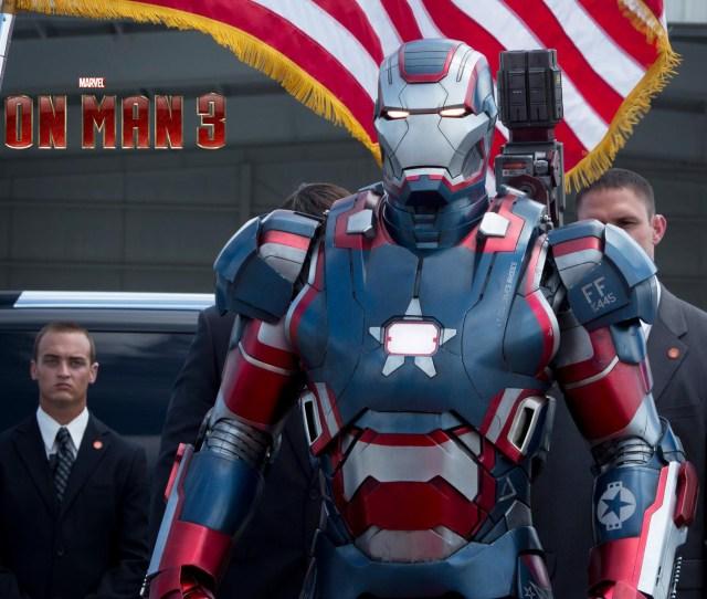 Iron Patriot Armor In Iron Man  Hd Wallpaper Ihd Wallpapers