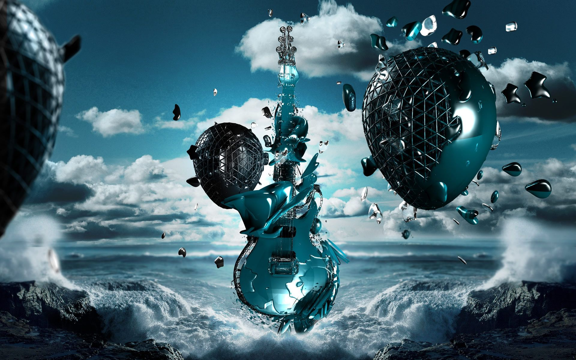 PC Wallpapers 3D Group  81   3D wallpapers add an extra dimension to your desktop background