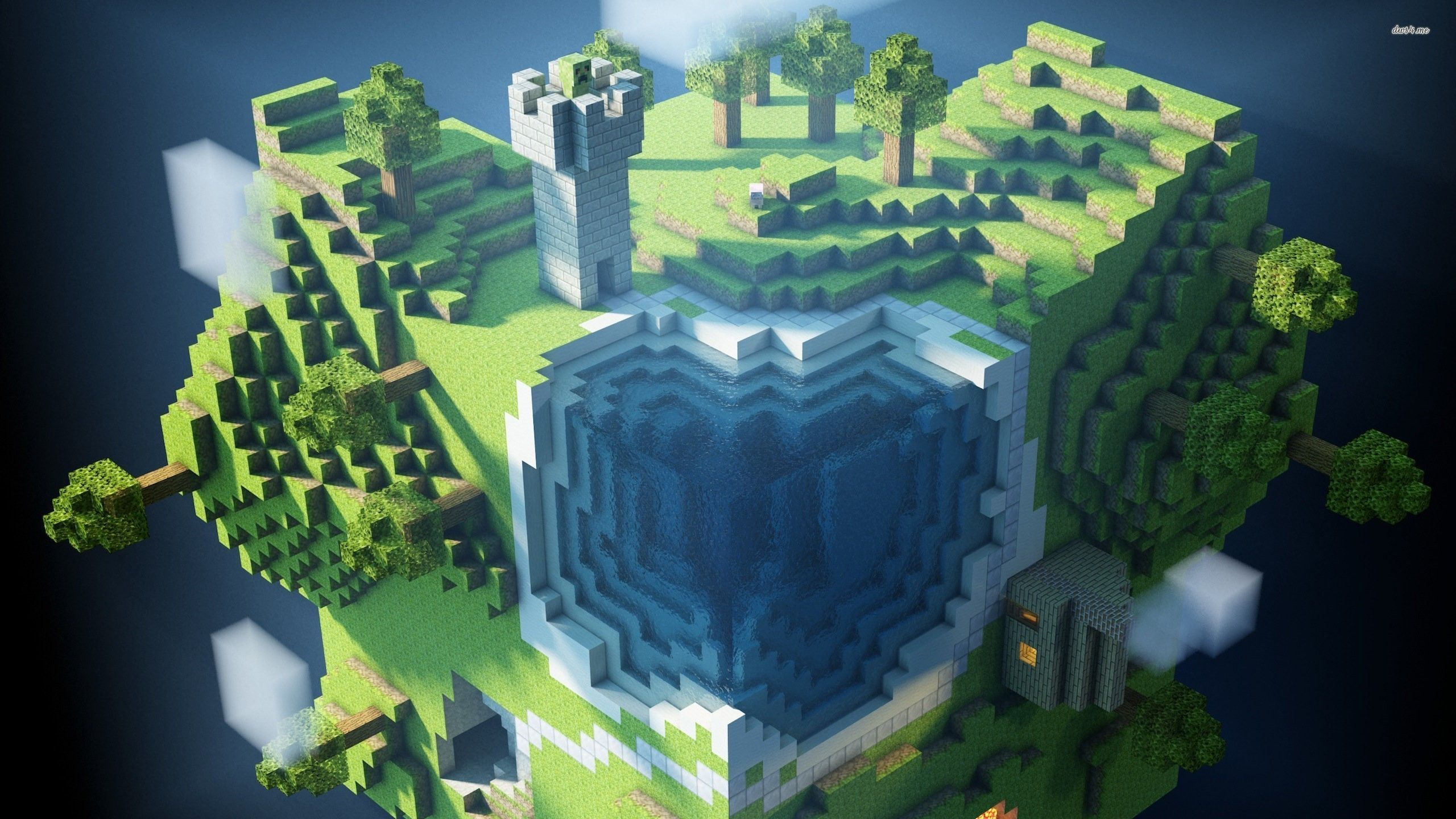 Minecraft Wallpapers 2560x1440 Group  86   Minecraft wallpaper   Game wallpapers    14942