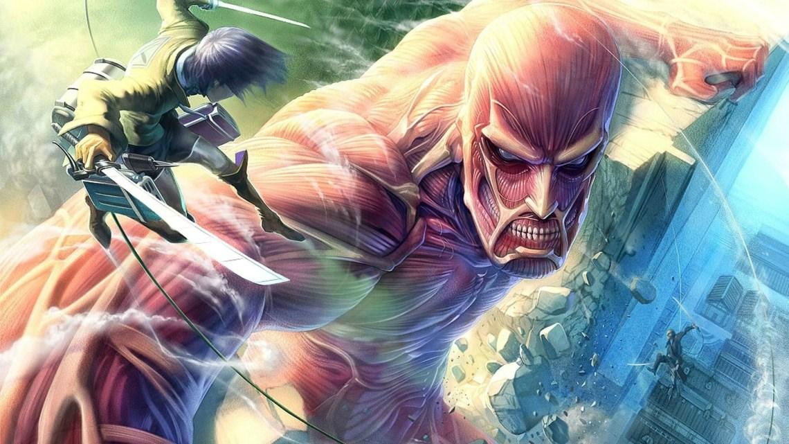 134 Attack On Titan Live