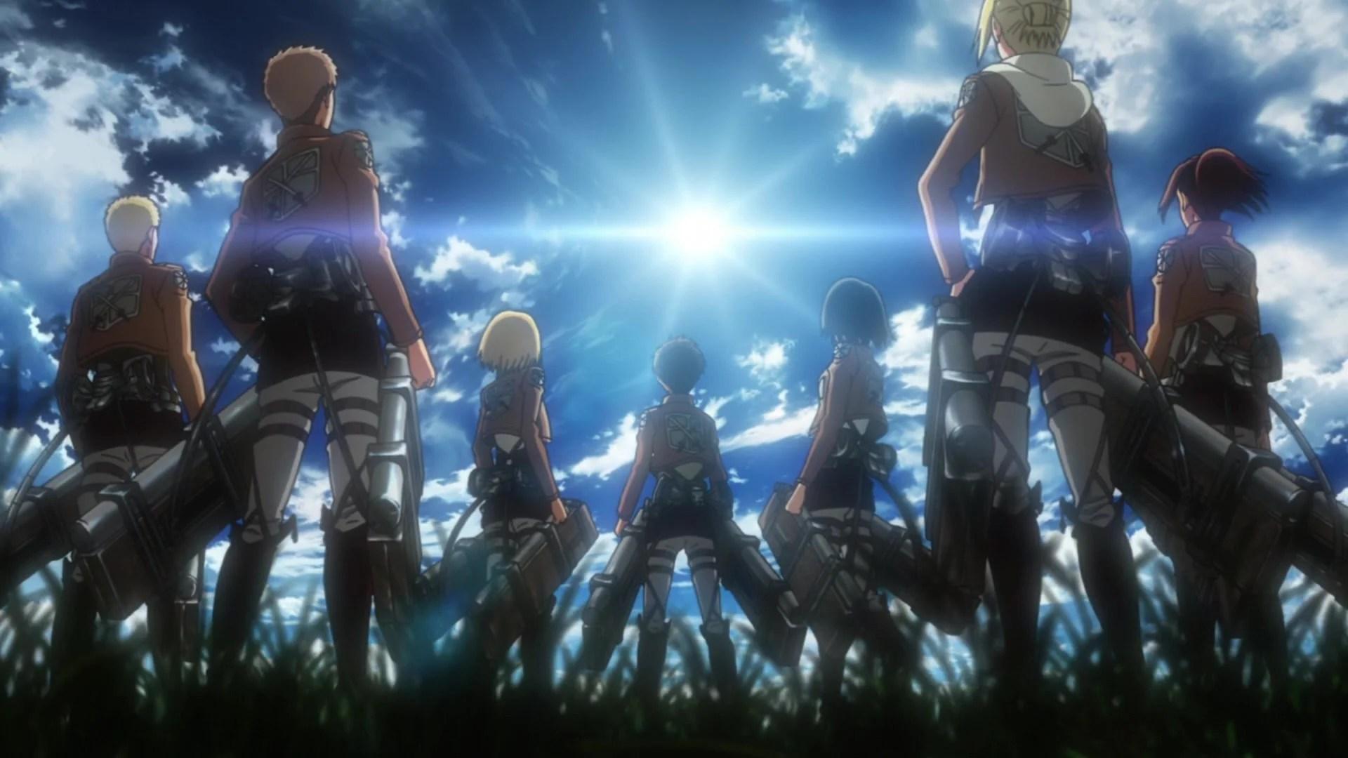 Attack on titan wallpaper, digital art, artwork, anime, anime boys. 134+ Attack on Titan Live