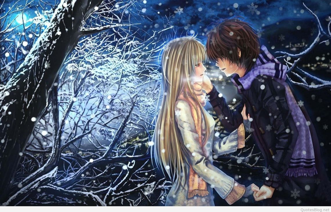 Sad Anime Couples Wallpapers On Wallpaperdog