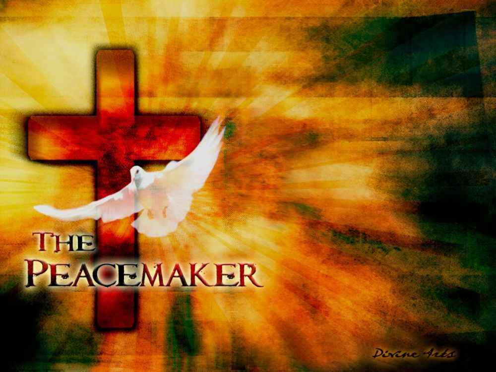 Message of the Beatitudes - Seven-  Peacemaker
