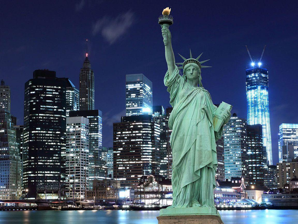 Statue of Liberty Wallpapers - Top Free Statue of Liberty Backgrounds -  WallpaperAccess