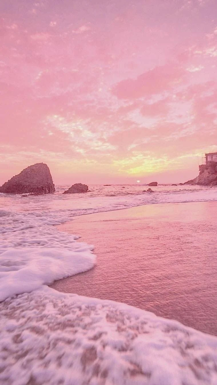 It blends the casual beach vibes with a. Pink Beach Aesthetic Wallpapers Top Free Pink Beach Aesthetic Backgrounds Wallpaperaccess