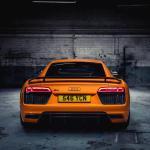 Audi R8 Orange Wallpapers Top Free Audi R8 Orange Backgrounds Wallpaperaccess