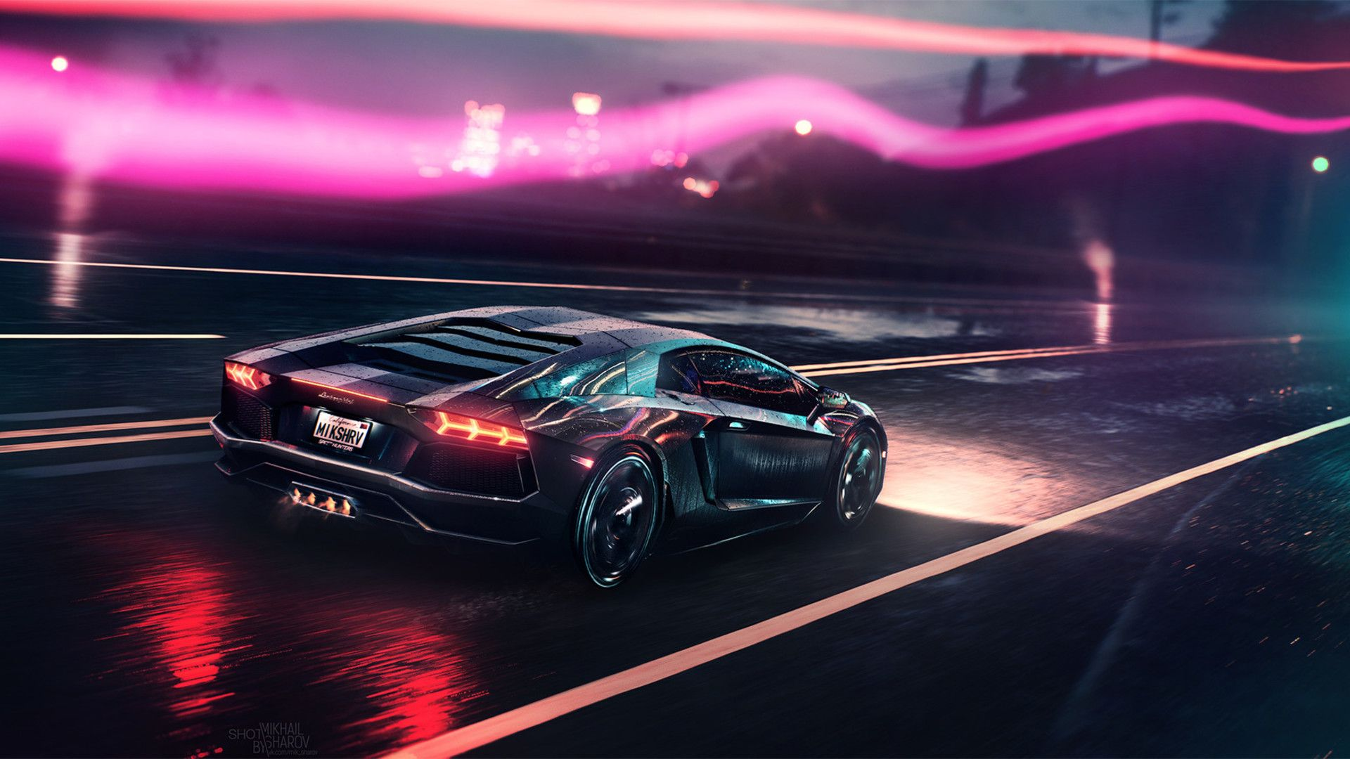 Neon Lamborghini Wallpapers Top Free Neon Lamborghini