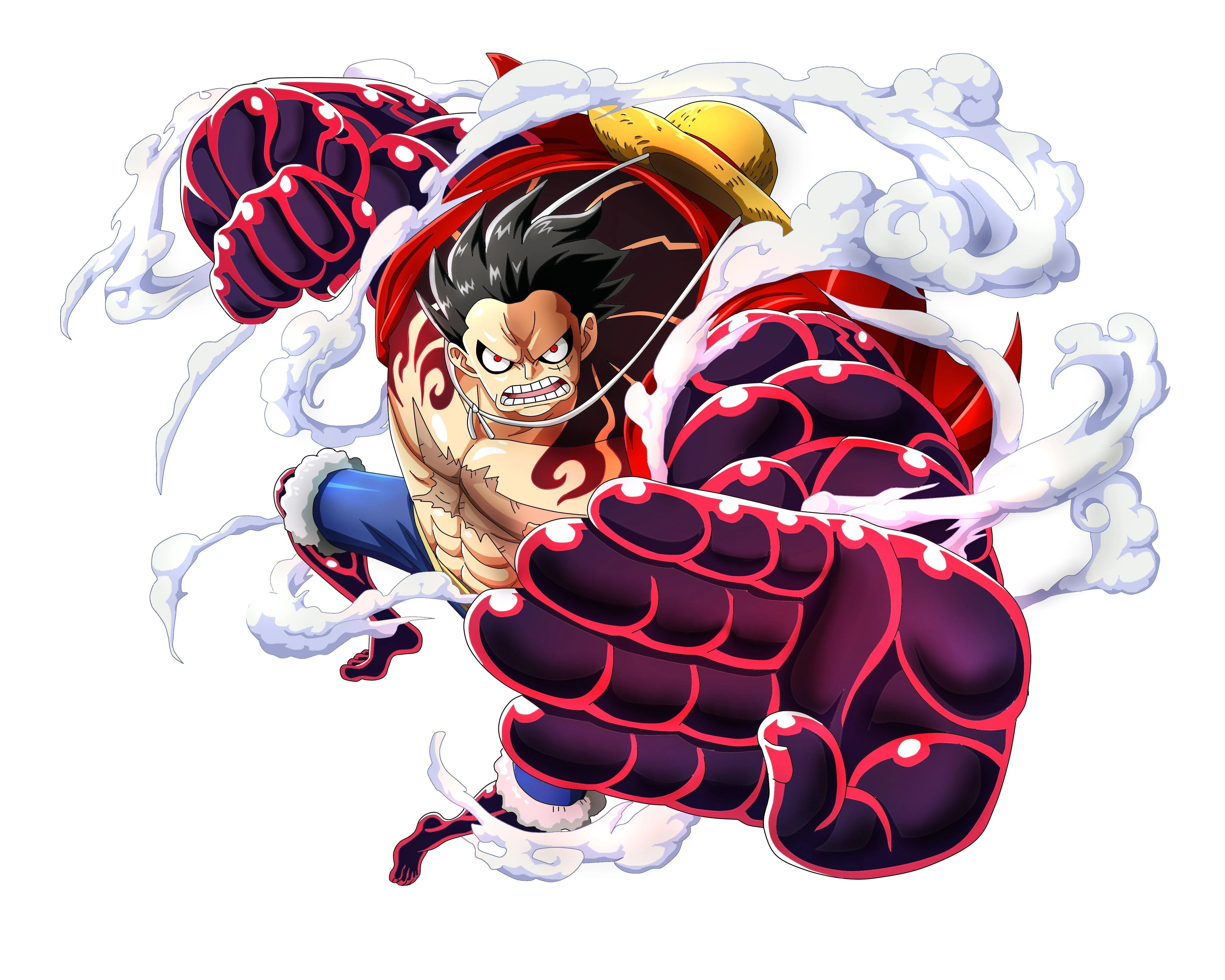 Luffy wallpapers and background images. Luffy Gear 4 Wallpapers Top Free Luffy Gear 4 Backgrounds Wallpaperaccess