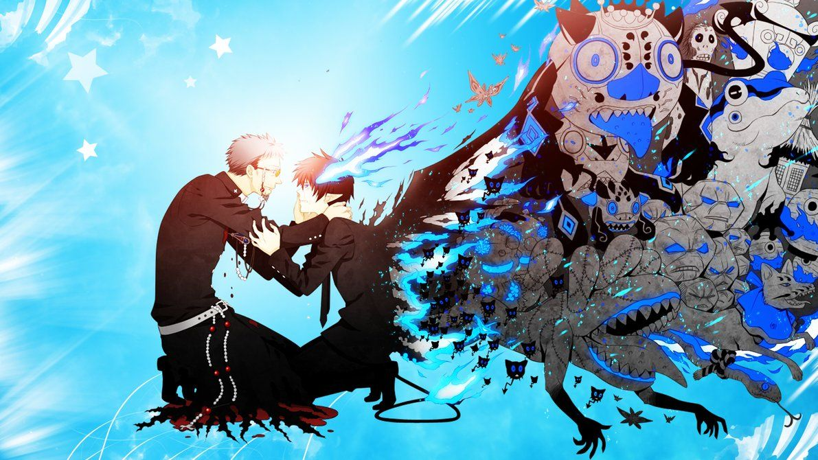 blue exorcist wallpapers top free