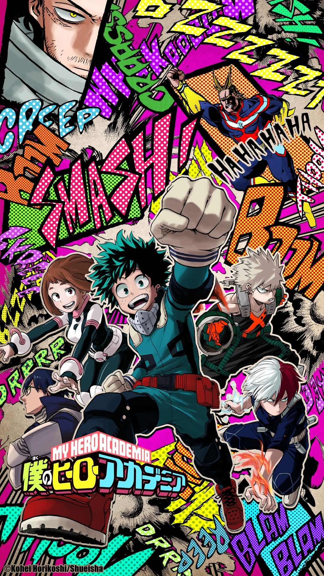 Check out this fantastic collection of my hero academia phone wallpapers, with 30 my hero academia phone background images for your desktop, phone or. My Hero Academia Phone Wallpapers - Top Free My Hero ...