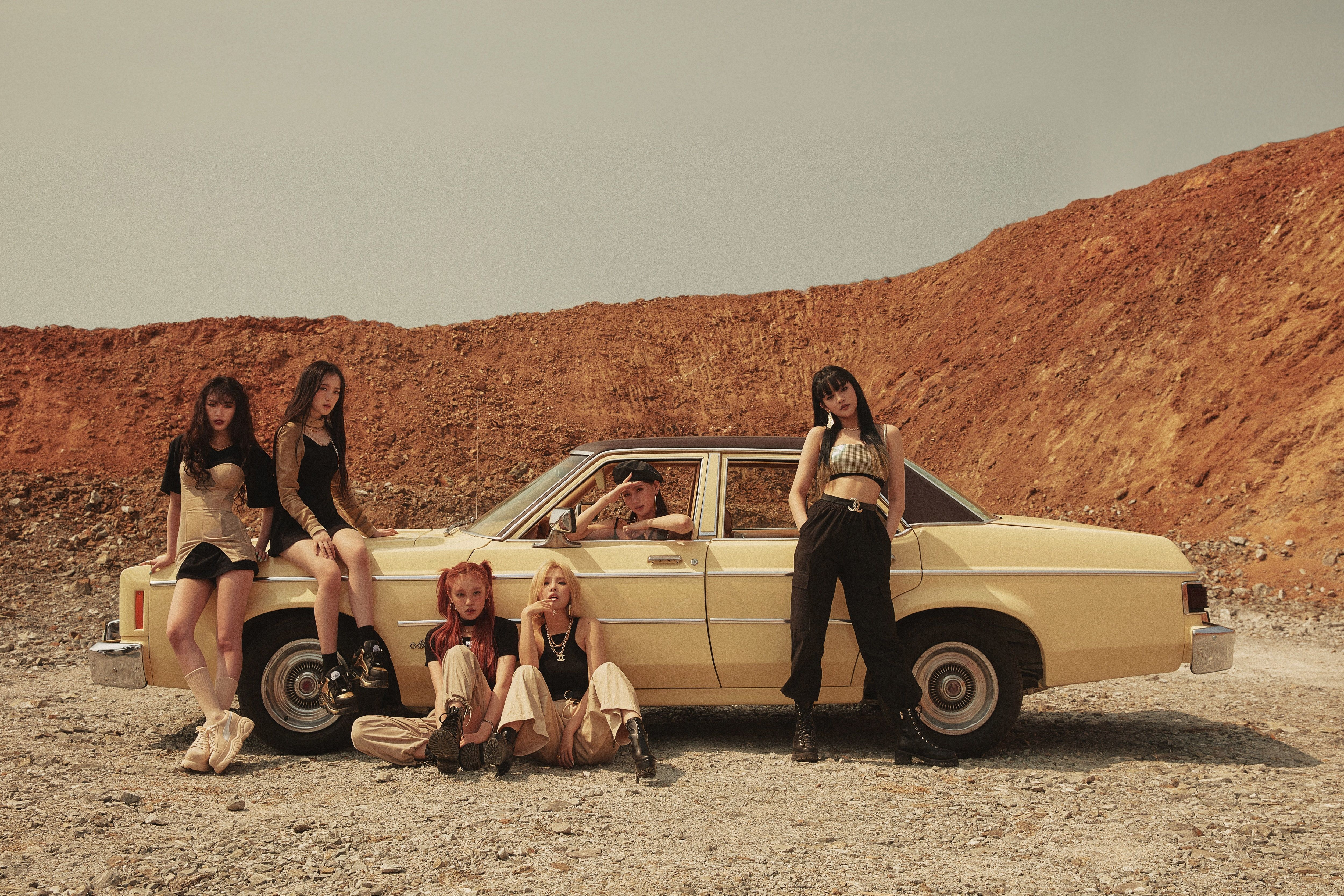 (G)I-DLE Wallpapers