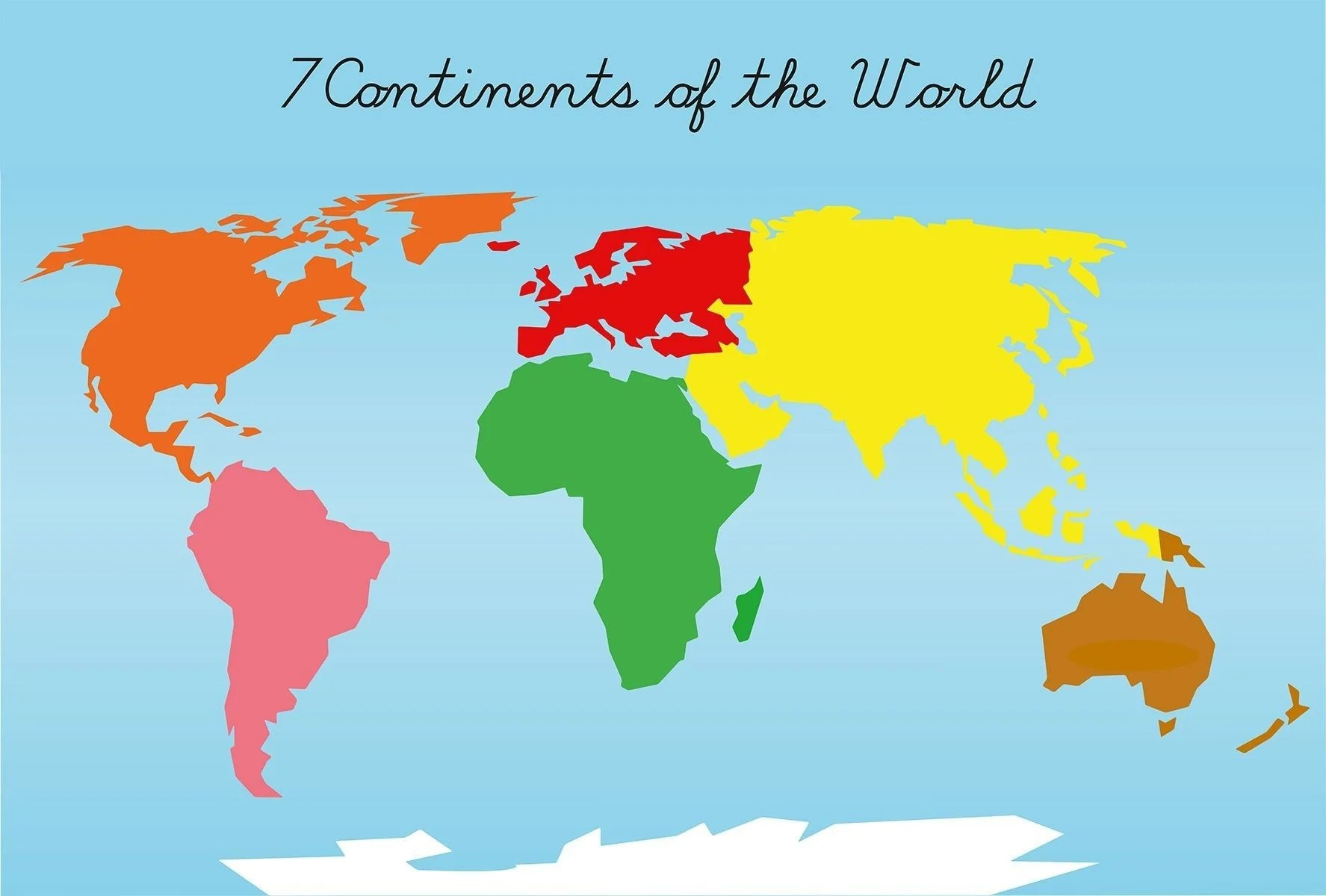 Seven Continents Wallpapers