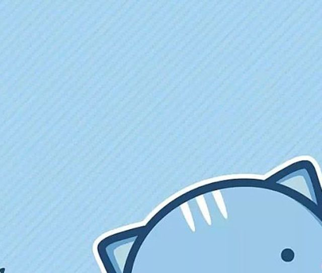 X Blue Monster Tap To See More Cute Cartoon Wallpapers Mobile