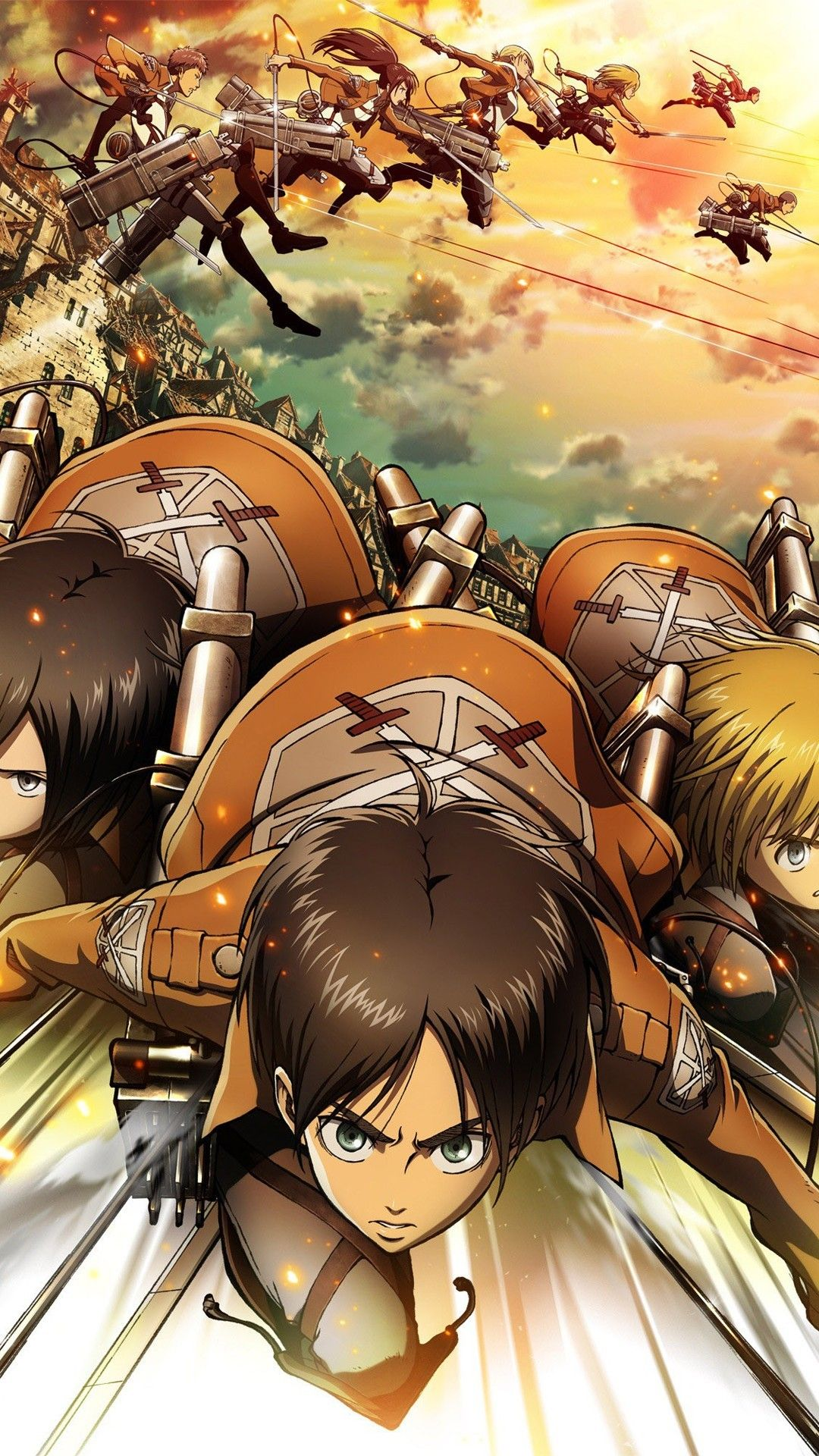 Yuriko nakao/getty images attack on titan is a popular anime series that has also spawned movies and video games. Attack On Titan iPhone Wallpapers - Top Free Attack On ...