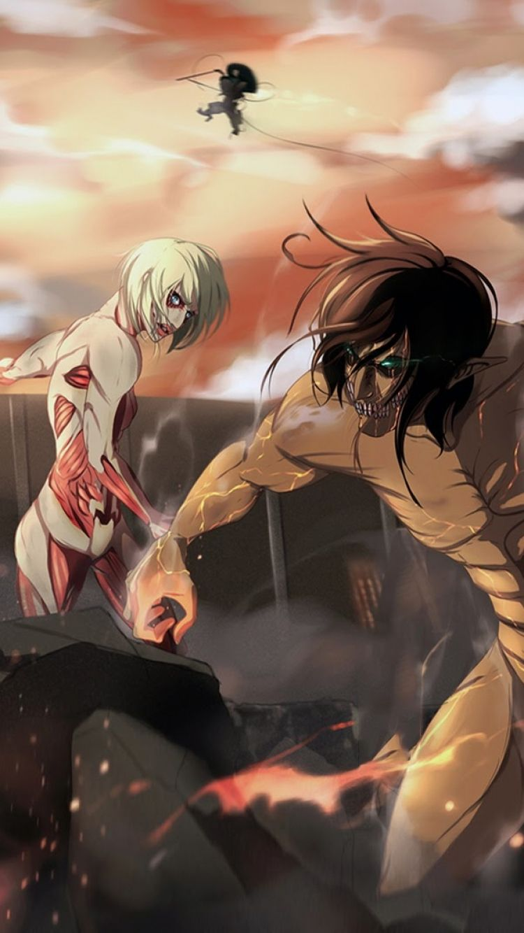 Window.dtvideos = window.dtvideos     window.dtvideos.push(function() { window.d. Attack On Titan iPhone Wallpapers - Top Free Attack On ...