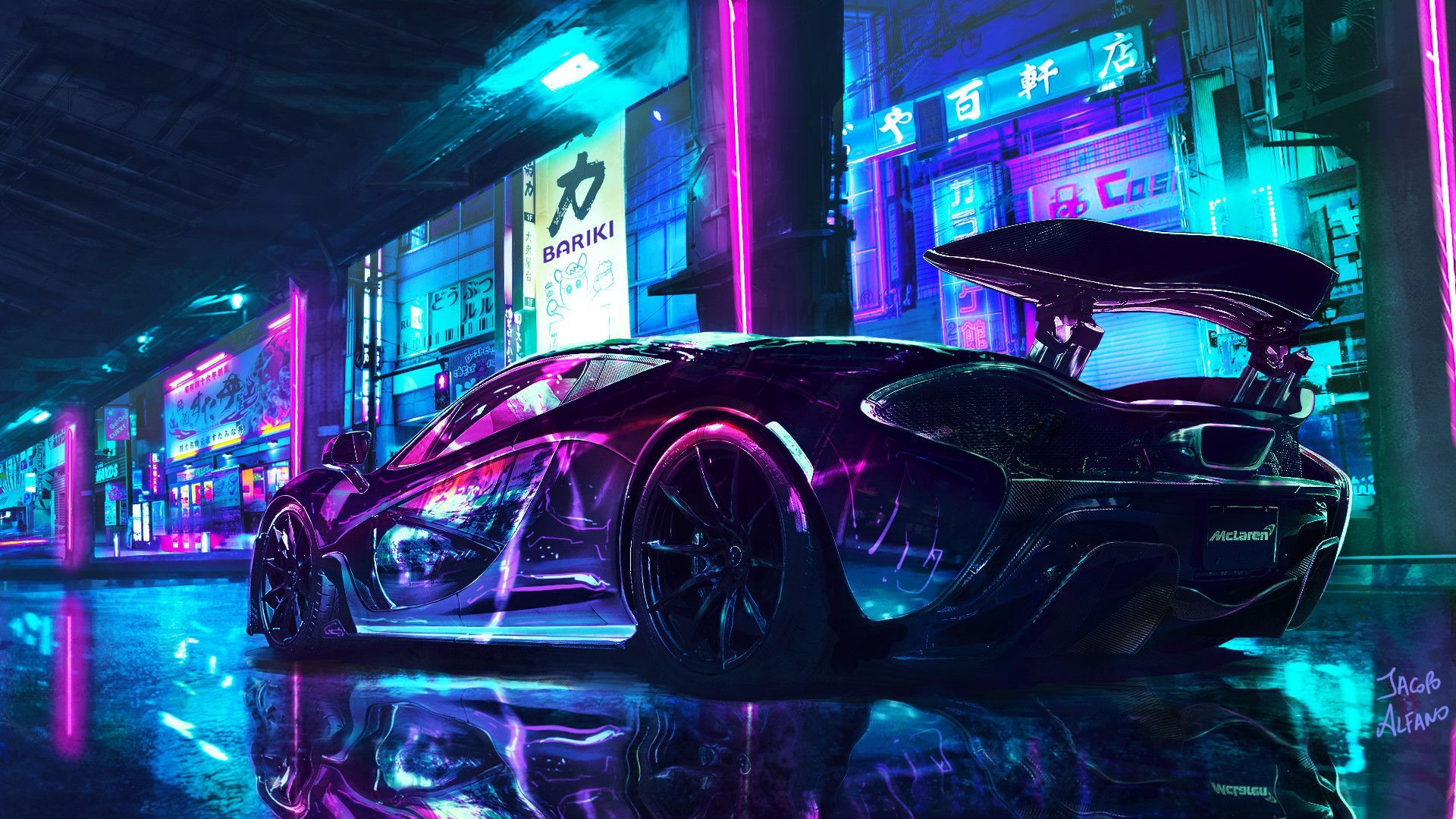 A lot of us don't like having a busy wallpaper on our phones, but that doesn't mean you have to seek out blurry wallpapers on google. Cyberpunk Car Wallpapers Top Free Cyberpunk Car Backgrounds Wallpaperaccess