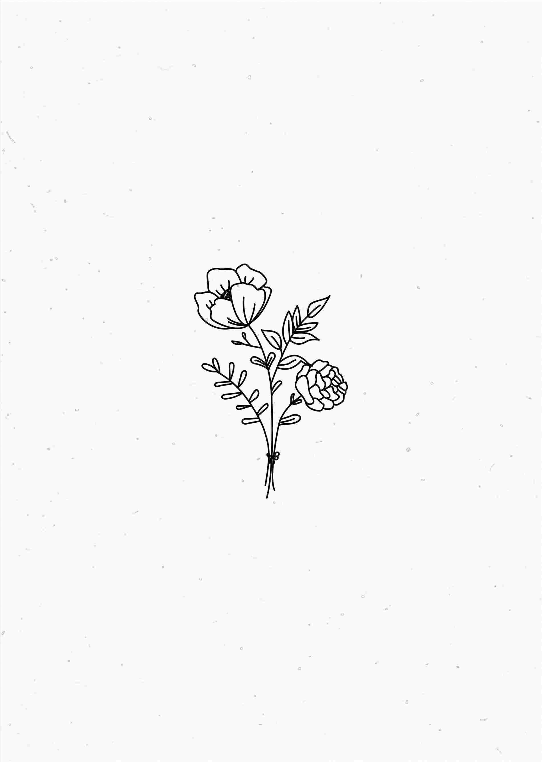 Choose from hundreds of pastel wallpapers. Minimalist Plant Drawing Wallpapers - Top Free Minimalist ...
