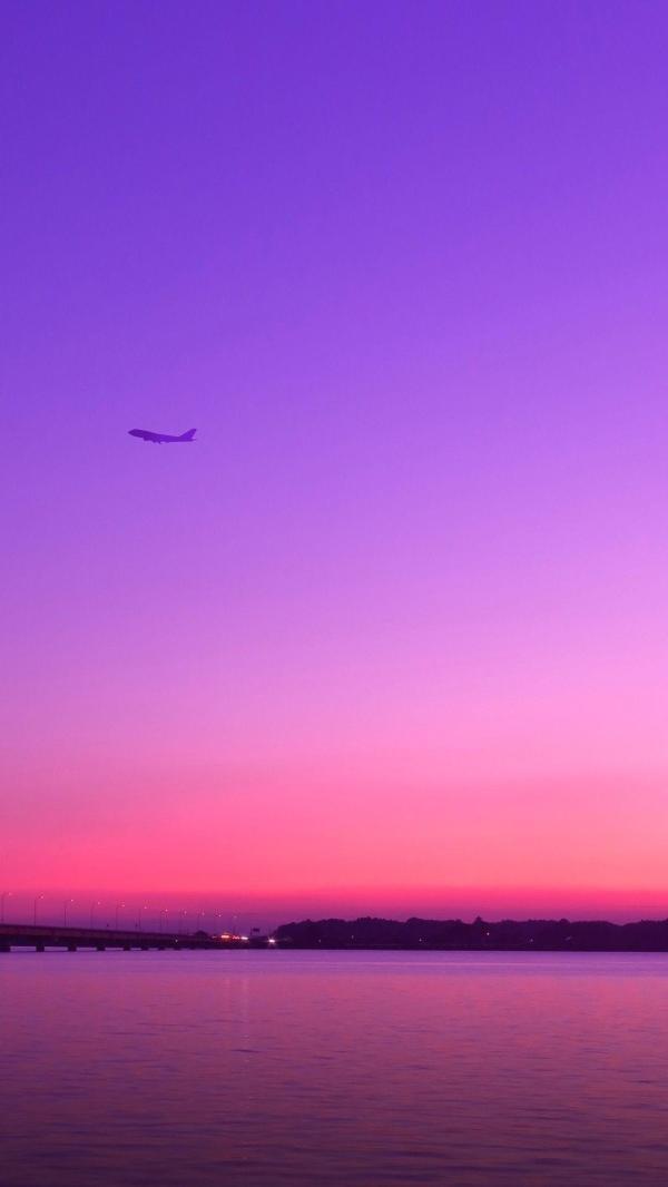 Purple Sky Wallpapers Top Free Purple Sky Backgrounds