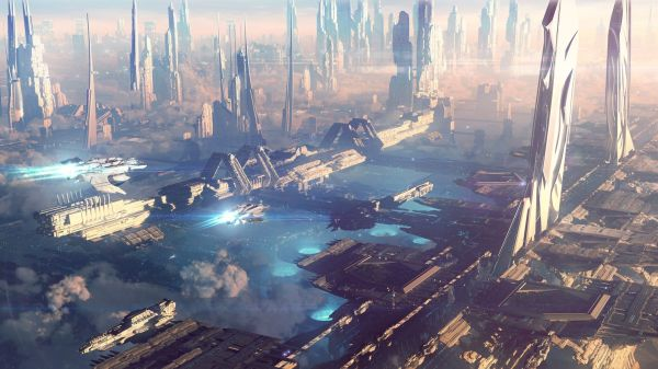 Future Space City Wallpapers Top Free Future Space City