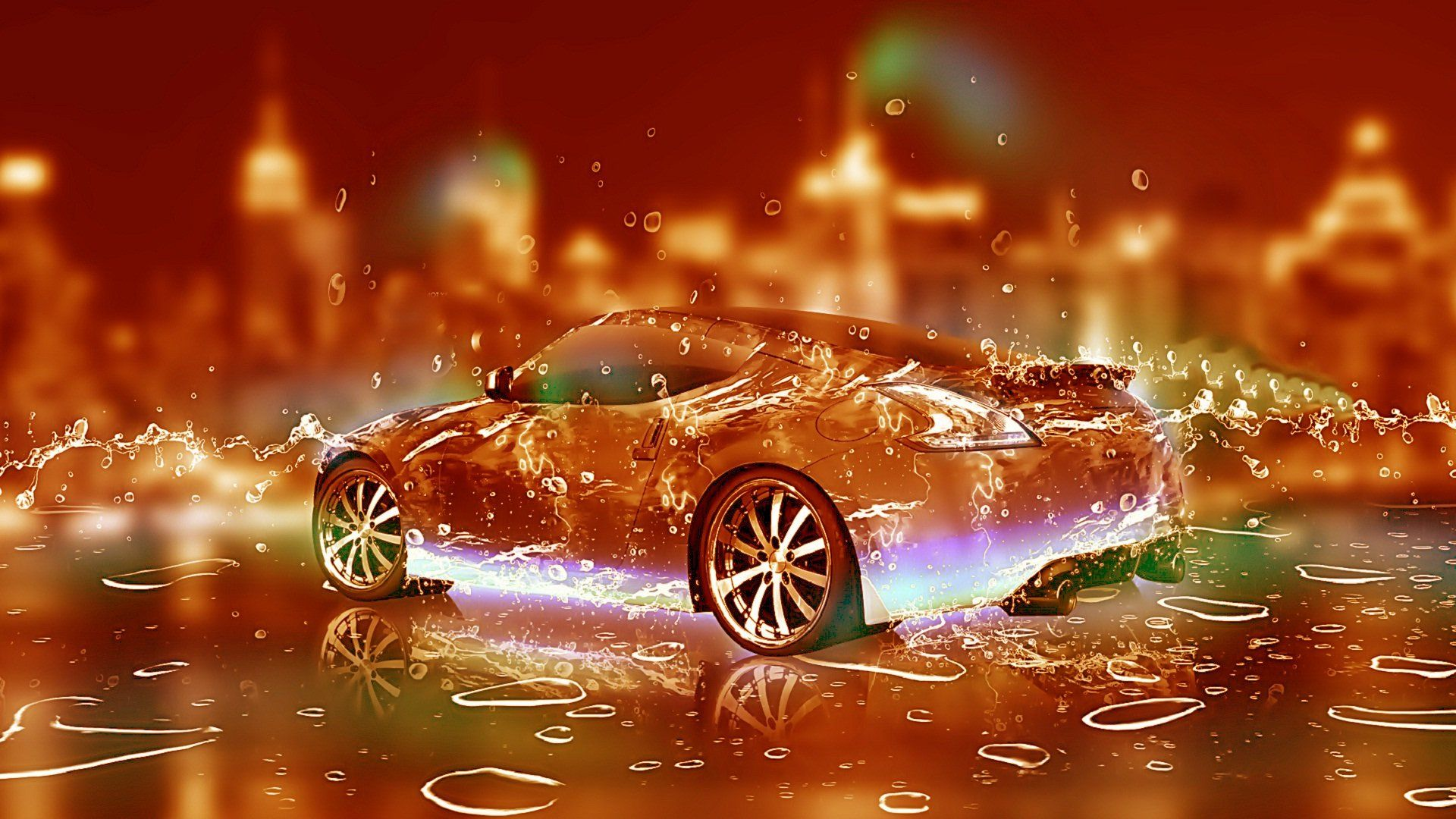 """Also known as """"poor man's 3d"""", the parallax effect was a thing since windows vista at the earliest, but it didn't become a thing until apple introduced it with ios 7. Water Car Wallpapers Top Free Water Car Backgrounds Wallpaperaccess"""