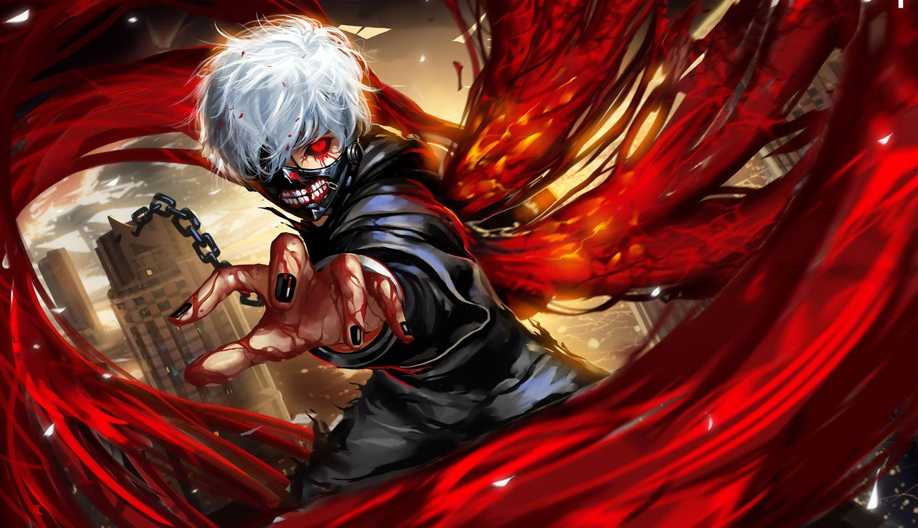 All photos in the app can be saved on your. Tokyo Ghoul Laptop Wallpapers - Top Free Tokyo Ghoul ...