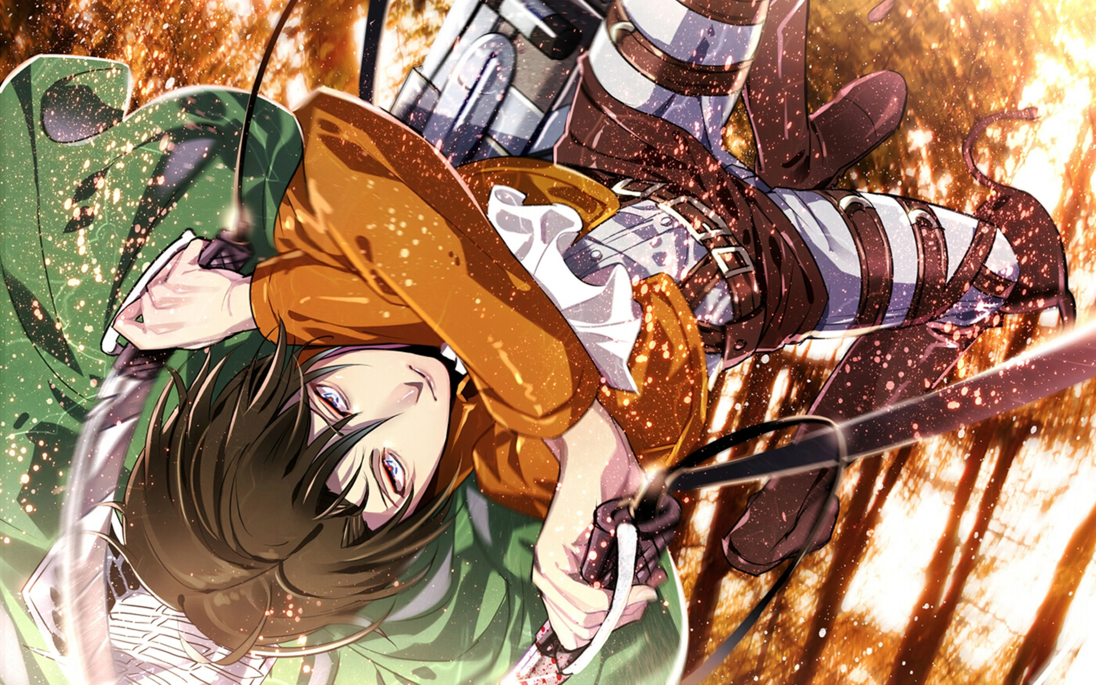 Collected 430 attack on titan wallpapers and background picture for desktop & mobile device. Attack On Titan Anime 4K Wallpapers - Top Free Attack On ...