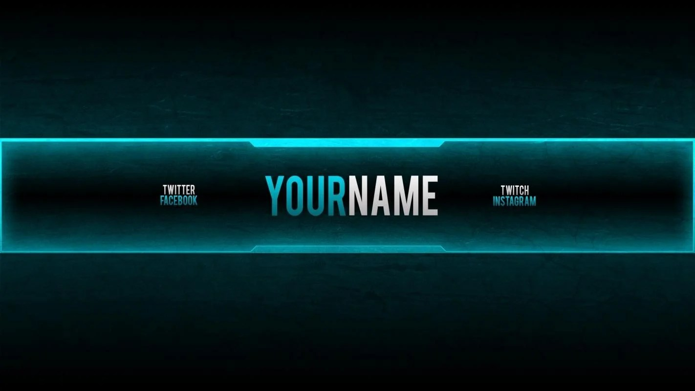 Banner youtube template png is about is about youtube, banner, logo, template, text. Gaming Banner Wallpapers Top Free Gaming Banner Backgrounds Wallpaperaccess