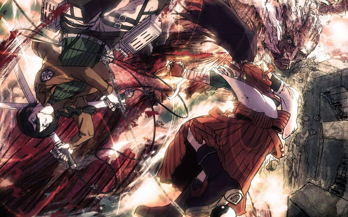 Attack On Titan Wallpapers Top Free Attack On Titan Backgrounds Wallpaperaccess