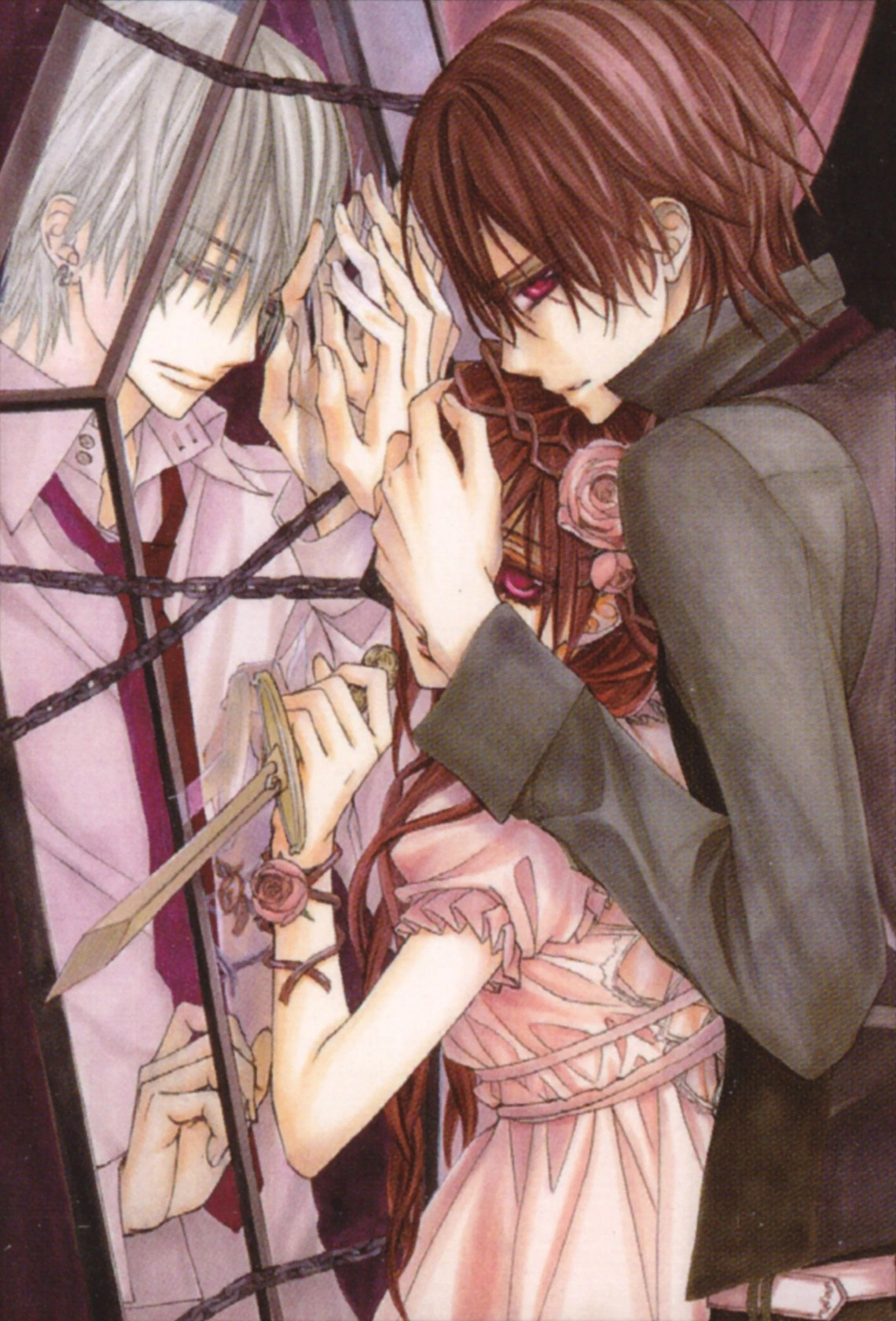 Vampire Knight Iphone Wallpapers Top Free Vampire Knight Iphone Backgrounds Wallpaperaccess