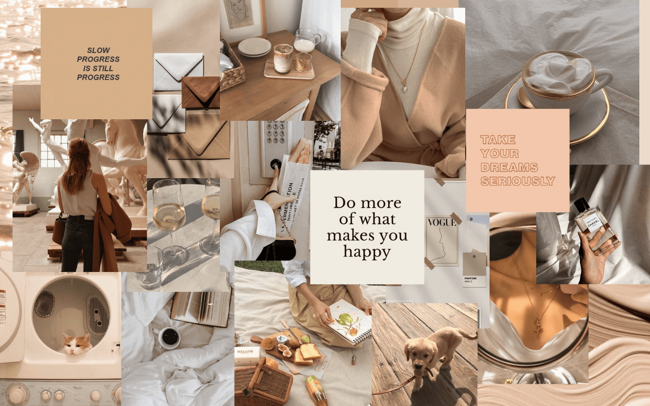 In such page, we additionally have number of images out there. Beige Aesthetic Laptop Wallpapers - Top Free Beige ...