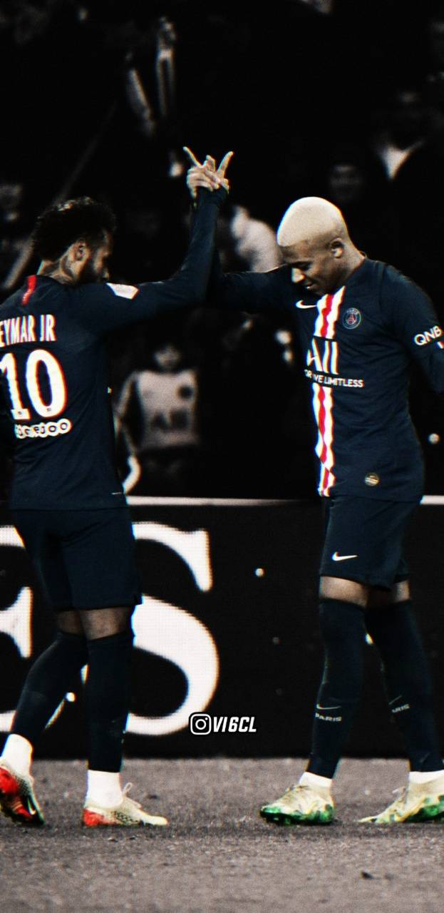 neymar and mbappe wallpapers top free
