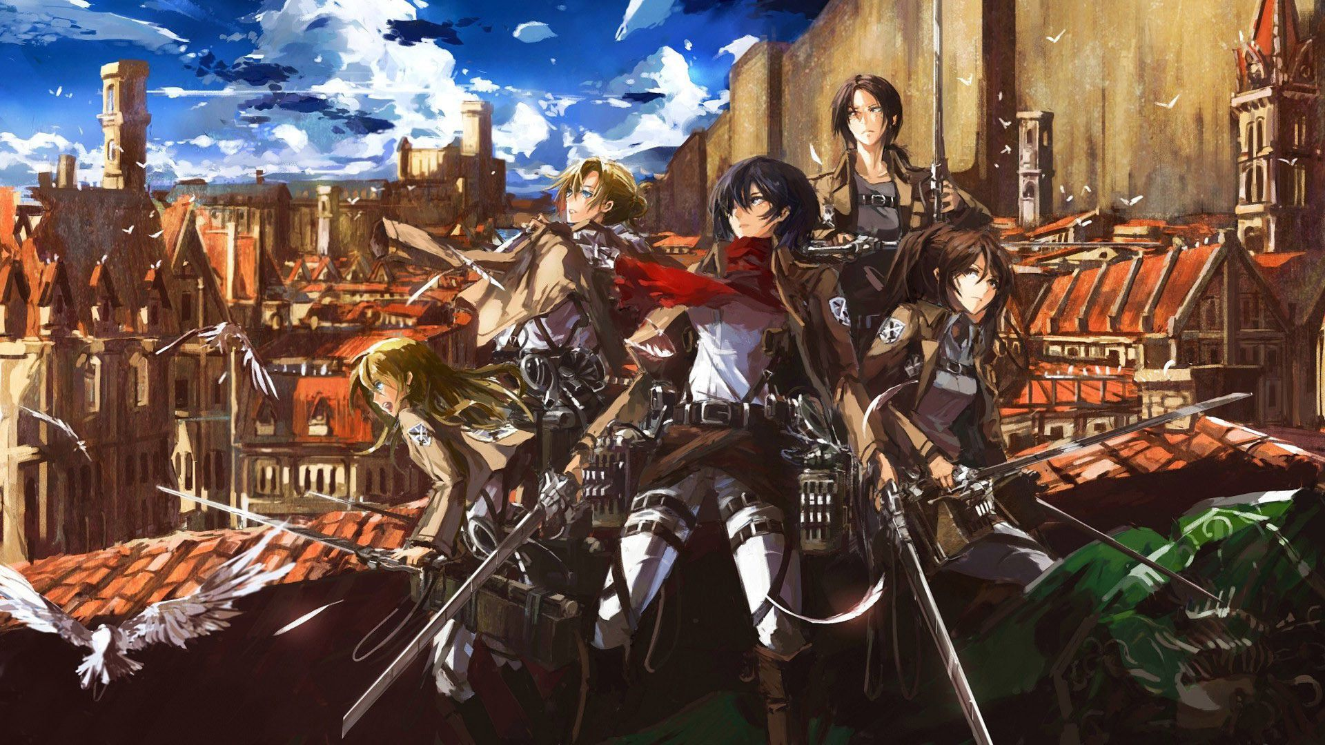 Hajime isayama, kodansha/''attack on titan'' production committee attack on titan has taken the anime world by storm. Attack On Titan Characters Wallpapers - Top Free Attack On ...