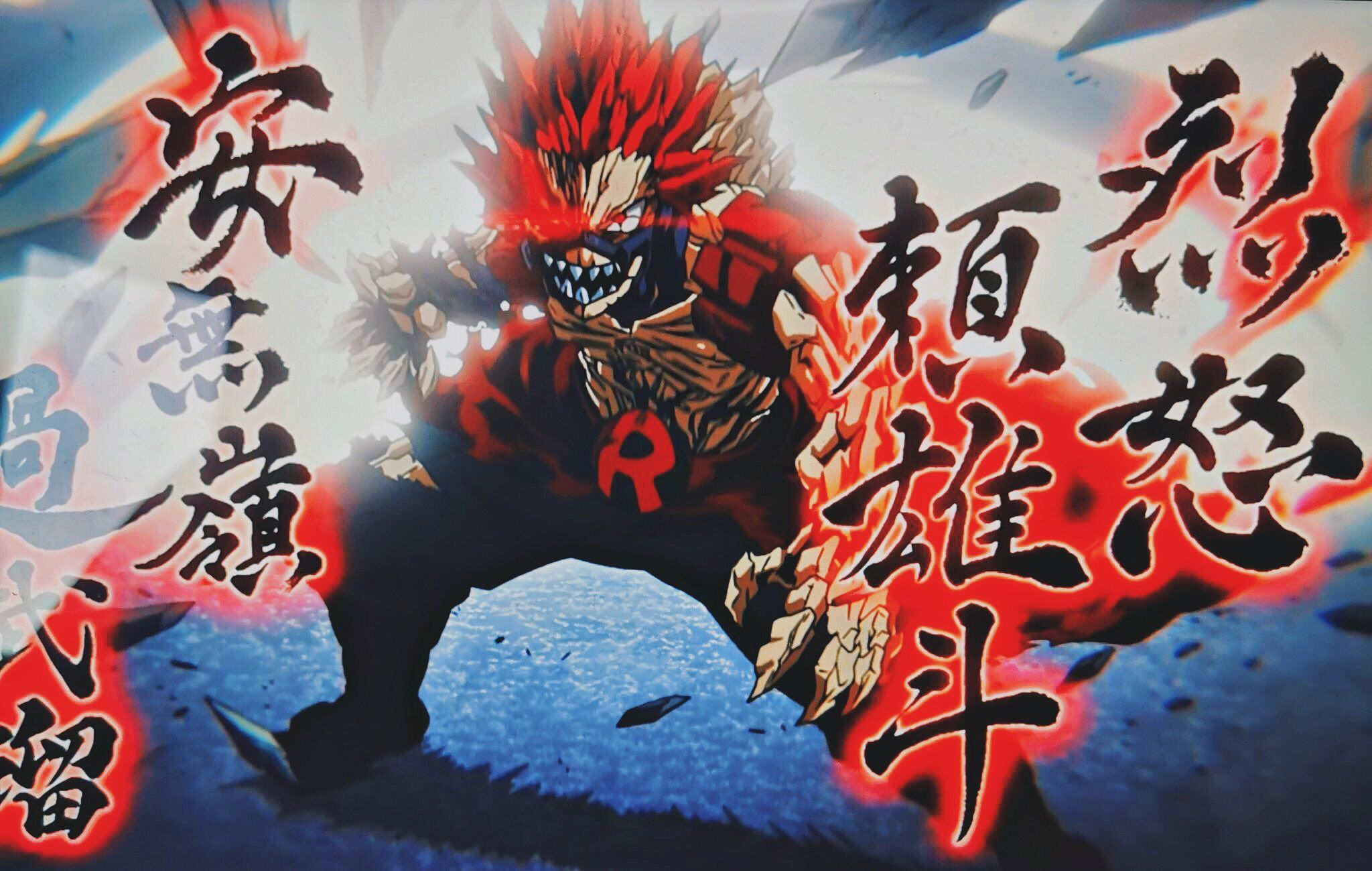 My hero academia wallpapers, anime wallpapers,. Red Riot Unbreakable Wallpapers - Top Free Red Riot ...