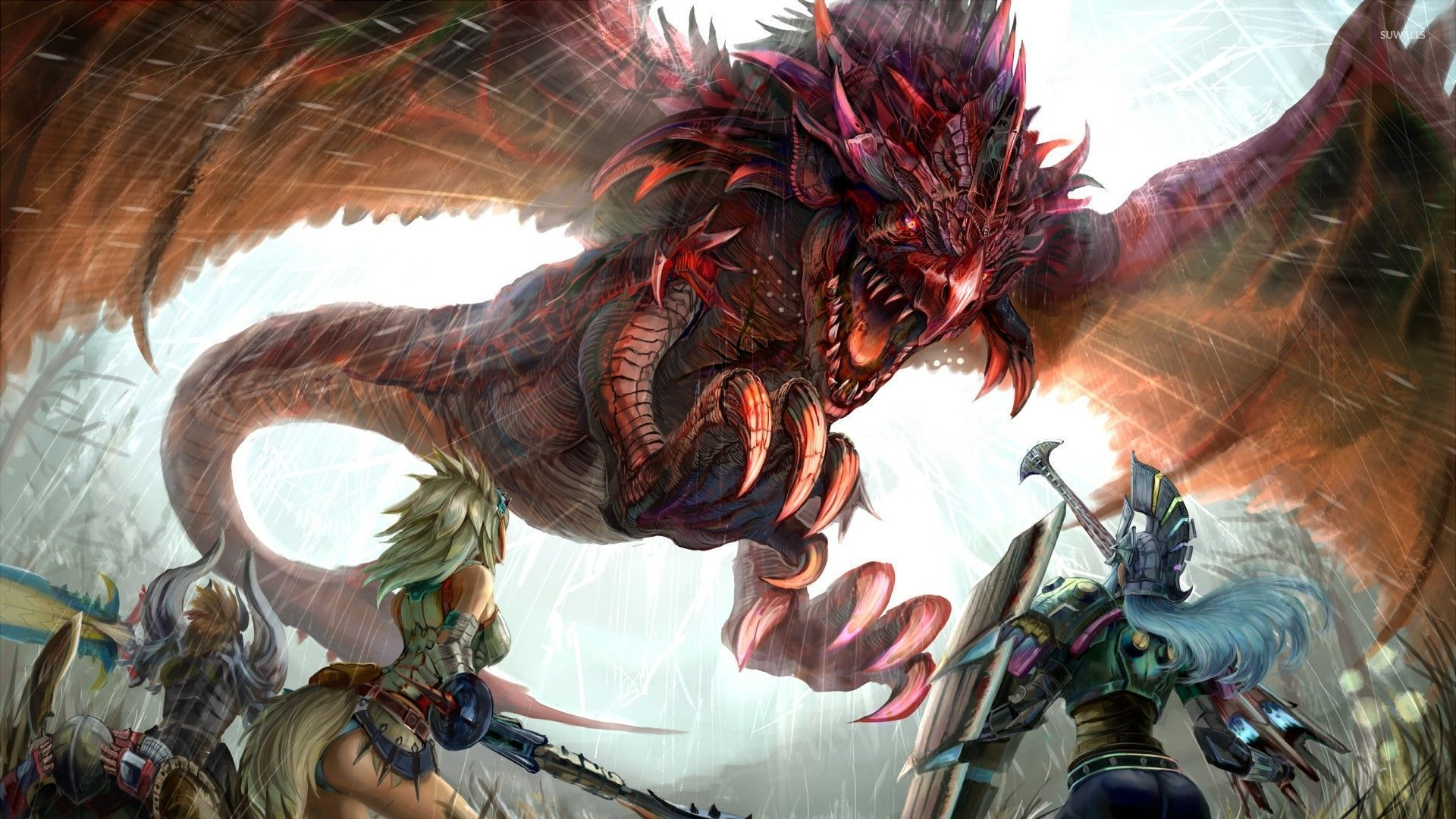 Set your phone background and lock screen with. Monster Hunter 4K Wallpapers - Top Free Monster Hunter 4K ...