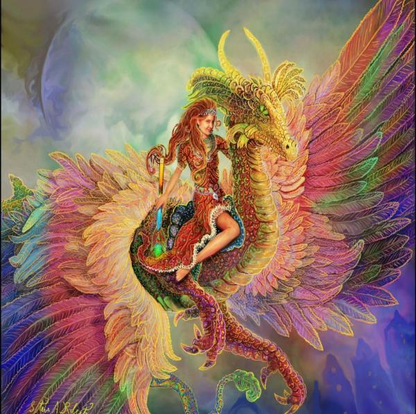 Big Rainbow Dragon Wallpapers - Top Free Big Rainbow ...