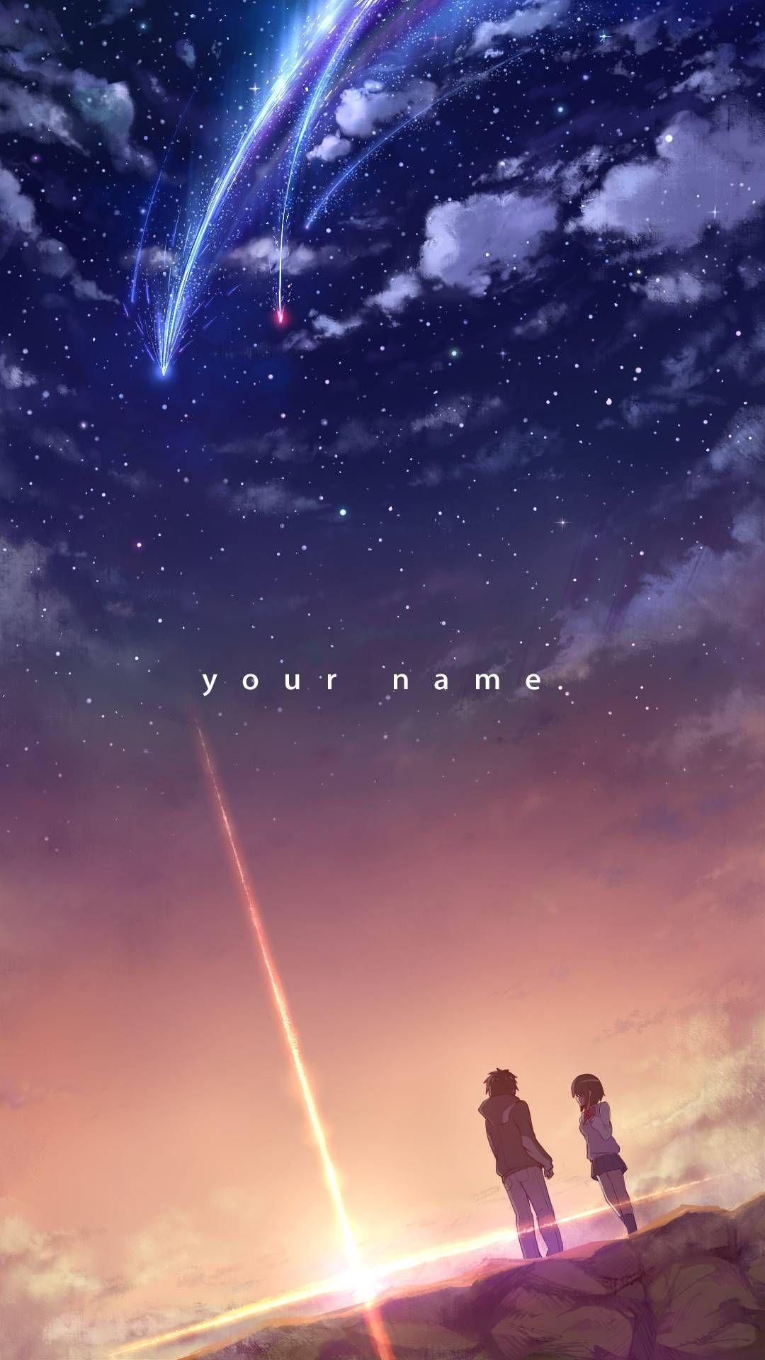 Anime Your Name Live Wallpapers Top Free Anime Your Name Live Backgrounds Wallpaperaccess