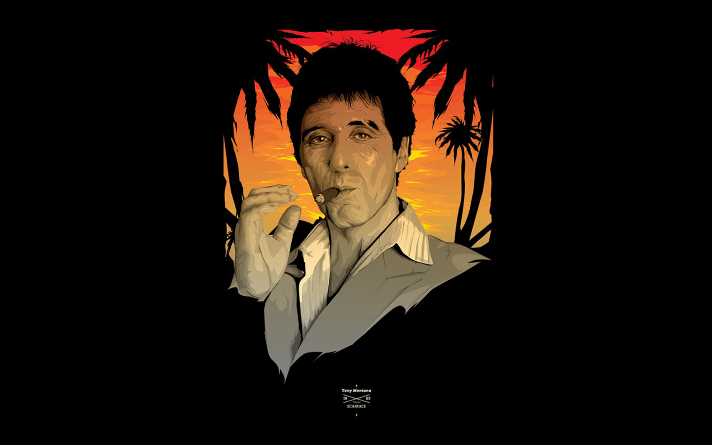 Tony Montana Wallpapers Top Free Tony Montana Backgrounds Wallpaperaccess