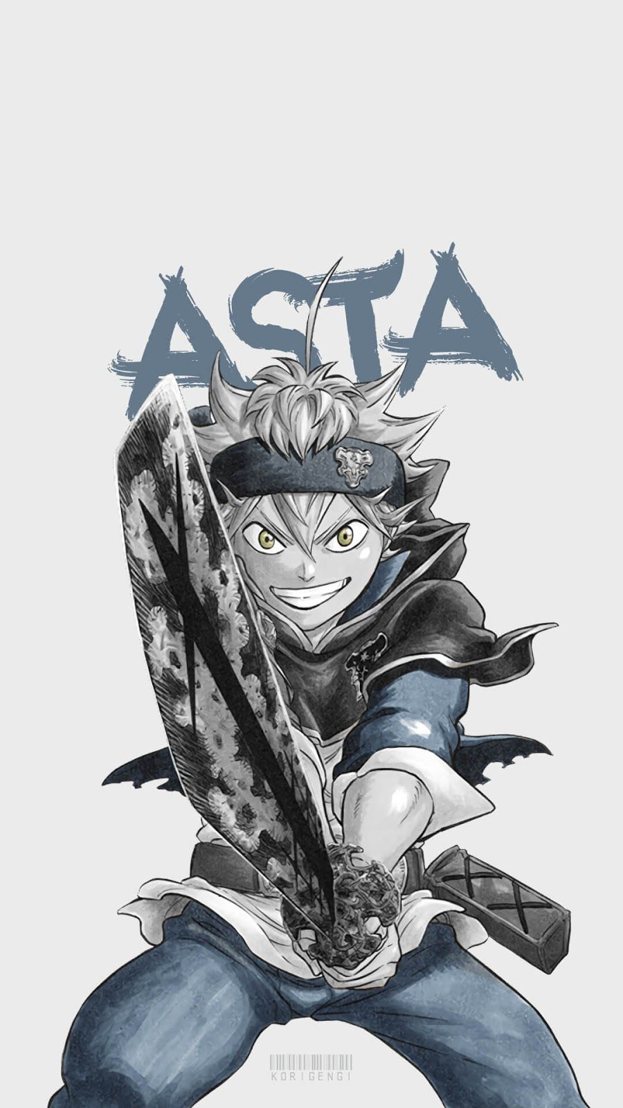 Make your device cooler and more beautiful. Asta Black Clover Wallpapers - Top Free Asta Black Clover ...