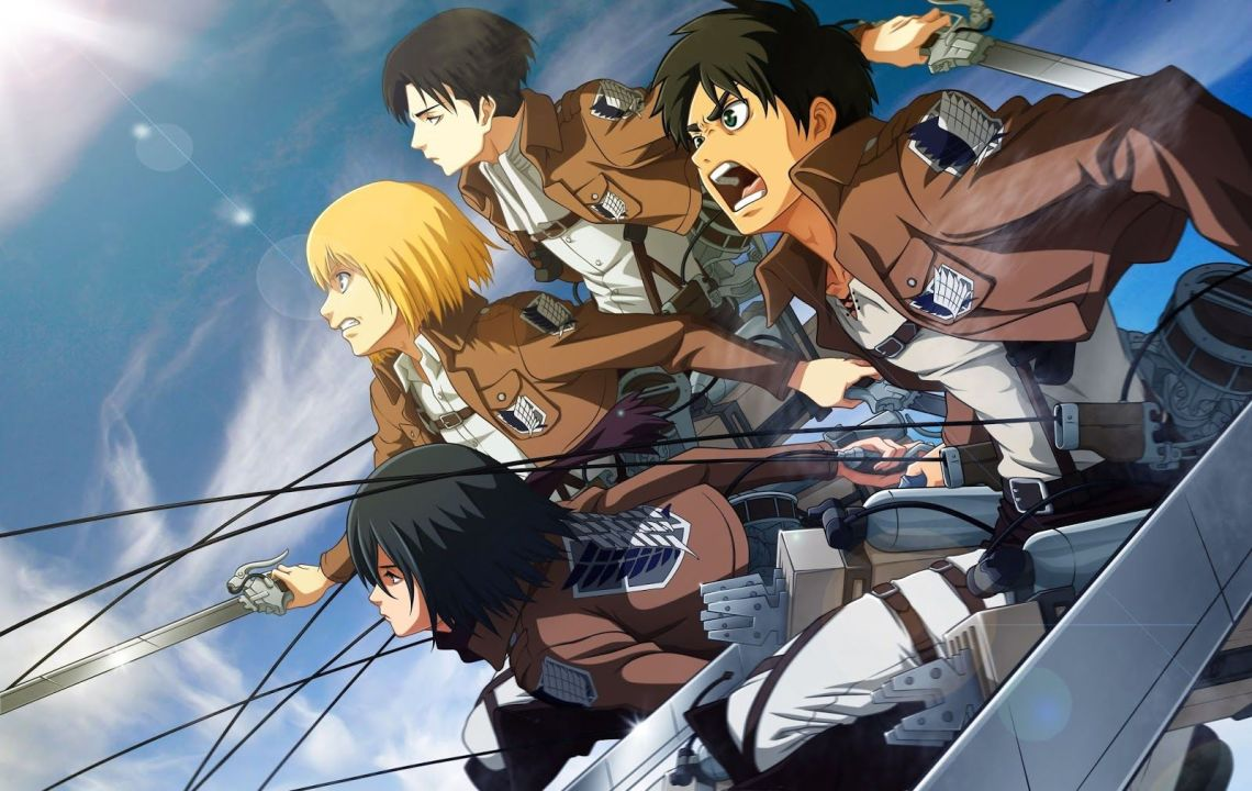 Attack On Titan Wallpapers 4k Hd Attack On Titan Backgrounds On Wallpaperbat