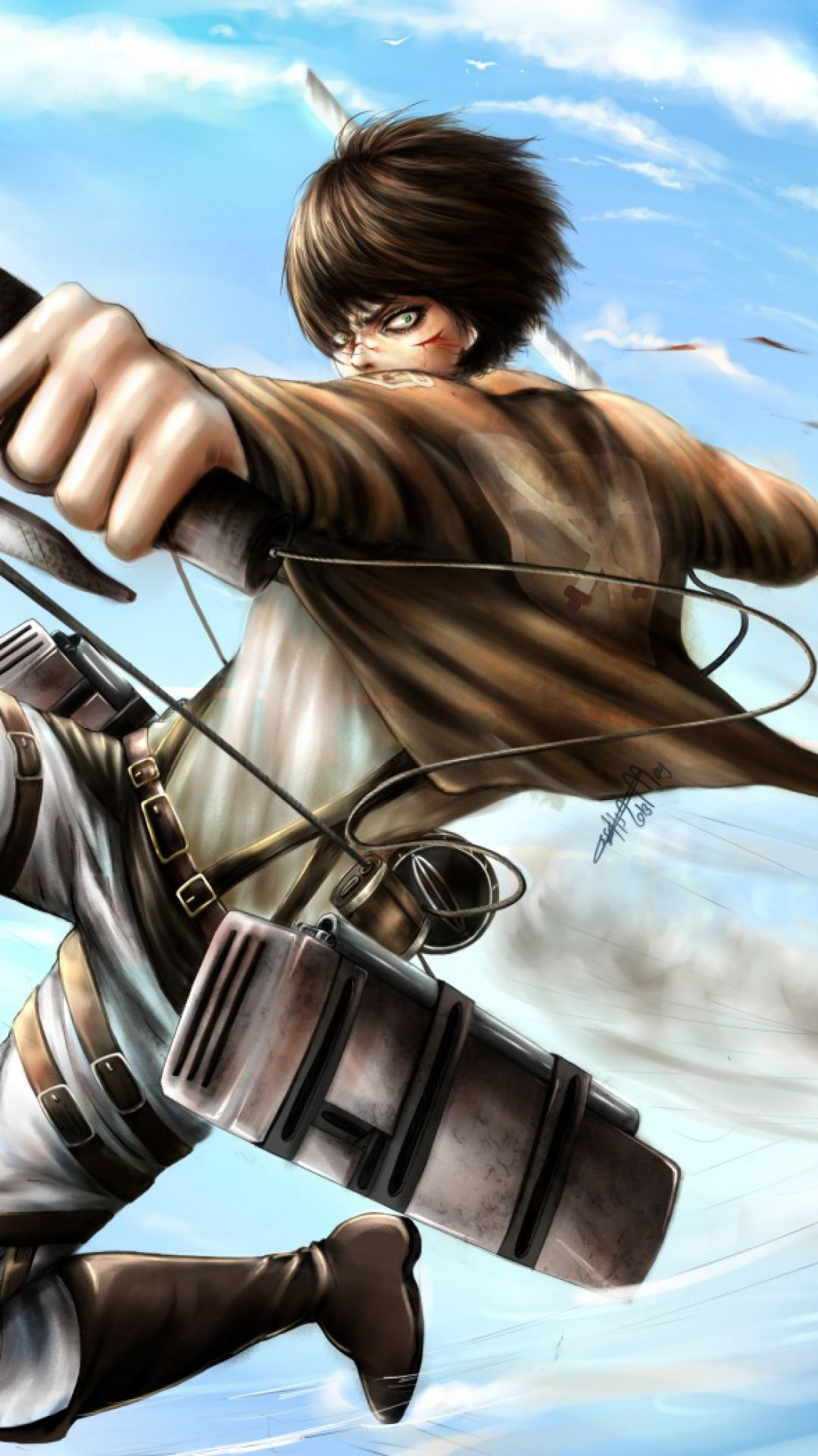Yuriko nakao/getty images attack on titan is a popular anime series that has also spawned movies and video games. 34 Attack on Titan iPhone Wallpapers - WallpaperBoat