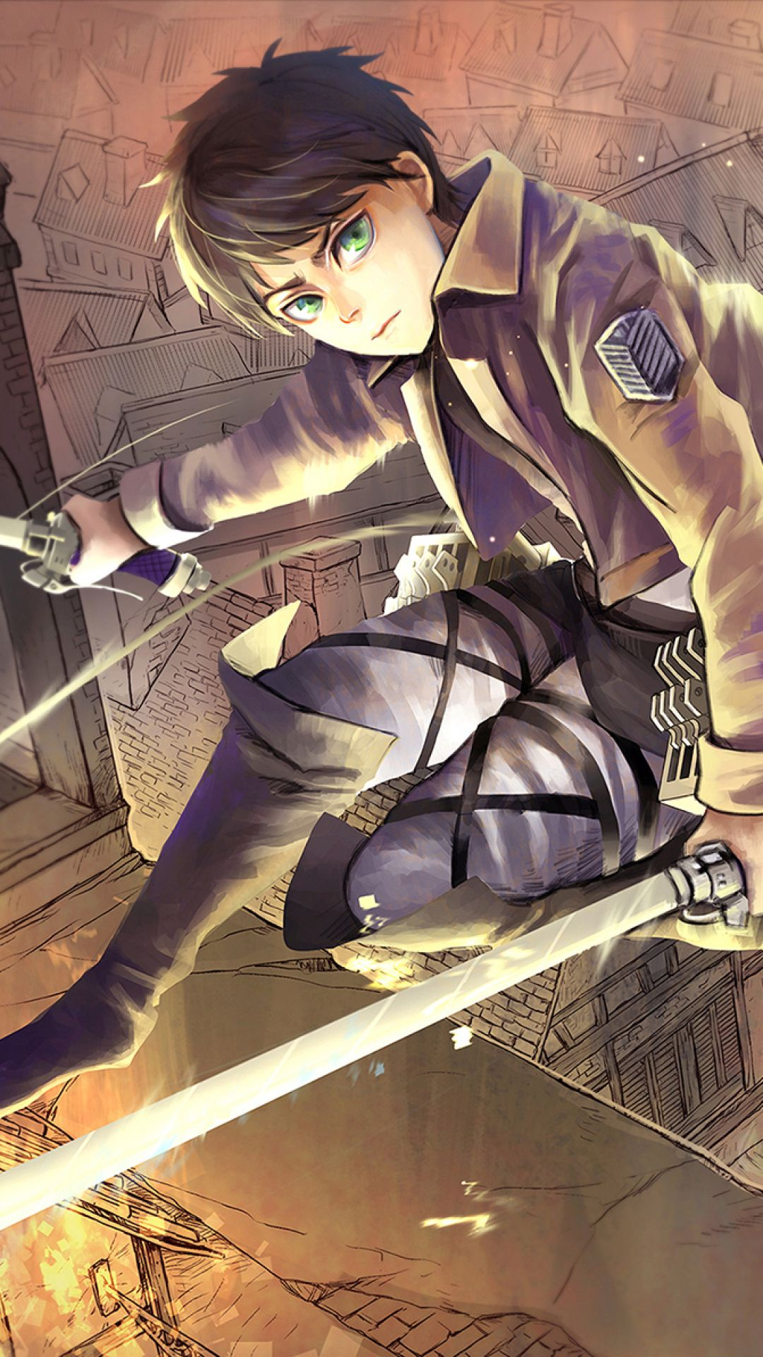 By lkoizumil 17+ eren yeager attack on titan wallpapers hd. 34 Attack on Titan iPhone Wallpapers - WallpaperBoat