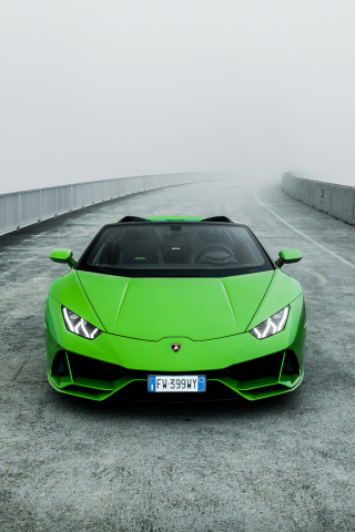 If you're purchasing your first car, buying used is an excellent option. Download Lamborghini Huracan Evo Spyder Green Car Wallpaper 240x320 Old Mobile Cell Phone Smartphone