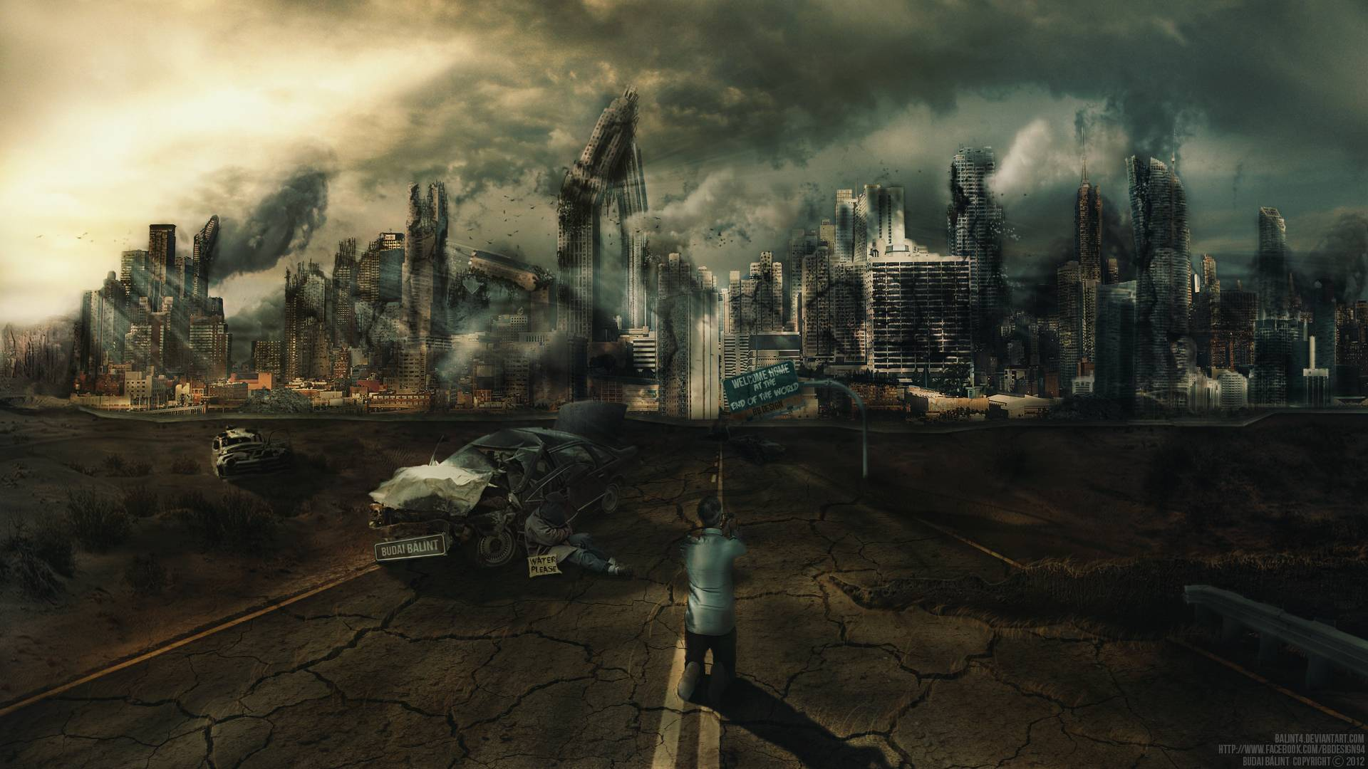 Image result for end of the world wallpaper