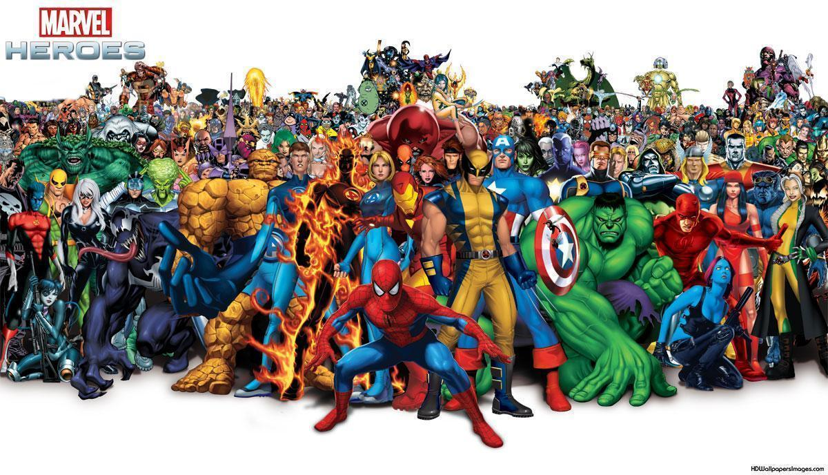 Marvel Heroes Wallpapers Wallpaper Cave