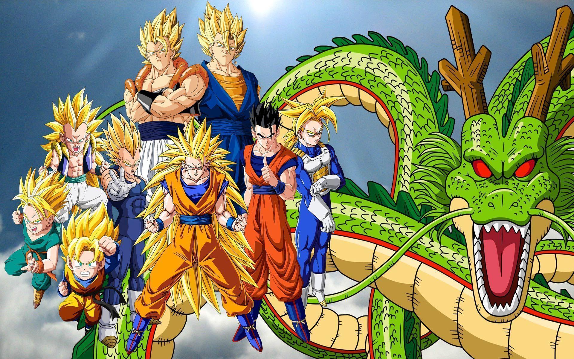 Dragon Ball Z Hd Wallpapers