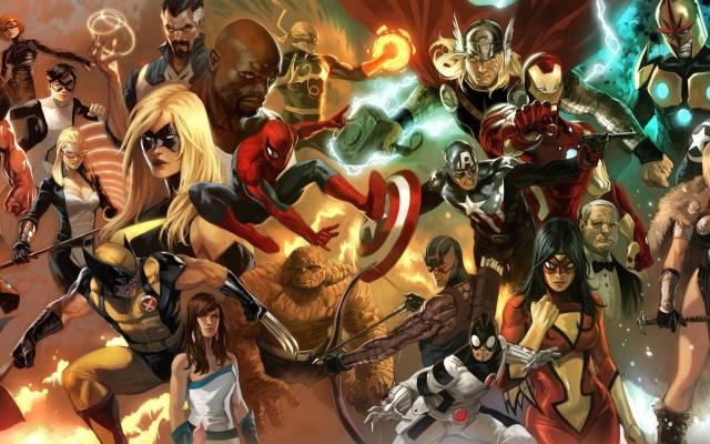 Marvel Wallpaper Full Hd Wallpaper Search